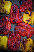 Fried or roasted chillies
