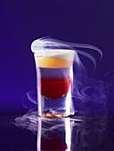 Volcano - a aperitif with nitrogen (molecular gastronomy)
