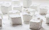 Selbstgemachte Vanille-Marshmallows