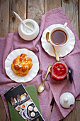 Brioche for breakfast