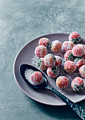 Rose water 'marzipan' balls