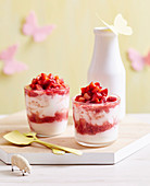 Superfoods For Babies and Toddlers - Toddlers - Breakfast - Strawbery and Raspberry Fool