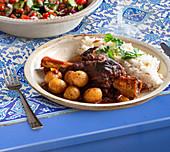 Incik (lamb shanks, Turkey)