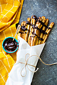 Baked gluten free dairy free churros