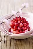 Wild strawberry tartlet