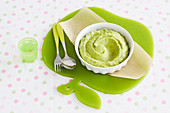 Apple, Broccoli and Avocado Puree for babies (6-9 Months)