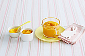 Blumenkohl-Kürbis-Cheddar-Püree für Babys (6-9 Monate)