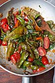 Italienische Gemüsepfanne