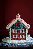 Lebkuchenhaus für Weihnachten