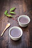 Gluten-free azuki pudding (Japan)