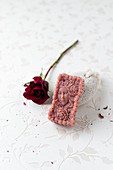 Handmade rose soap