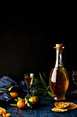 Orange fermentated wine