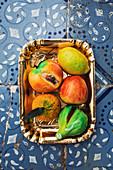 Frutta martorana (Sicilian marzipan fruits, Italy)