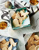 Shortbread-Kekse zu Weihnachten