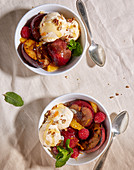 Stone Fruit Sundae