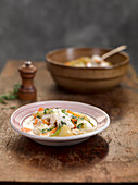 Belgium waterzooi (fish stew)