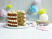 Funfetti party cake