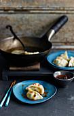 Boiled Jiozi Dumplings