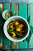 Boiled Wonton Soup