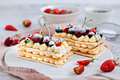 Millefeuille - French cream cakes
