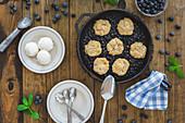 Blueberry Grunt (blueberry dessert, Nova Scotia, Canada)