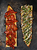 Anchovy Tomato Baguette