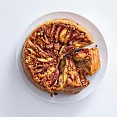 Pfirsichkuchen mit Mandeln und Amaretti