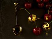 Gilded cherries