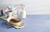 Weetabix (wholemeal wheat breakfast biscuits for soaking, England)