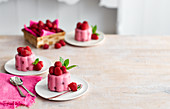 Raspberry Mousse Jelly