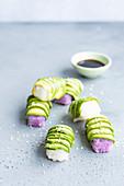 Vegan Avocado sushi