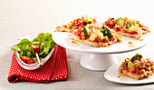 Baked turkey breast alla pizzaiola with cheese