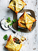Spiced Lentil and Sweet Potato Pies