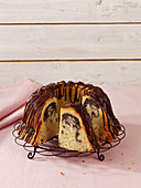 Poppyseed and eggnog Bundt cake