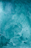 A turquoise background