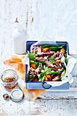 Lamb, Kumara and Chickpea Salad