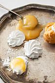 Kleingebäck mit Lemon Curd