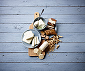 Wholefoods: tofu, seitan, textured soy and tempeh