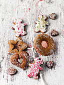 Gingerbread Christmas tree decorations from North Rhine Westfalia