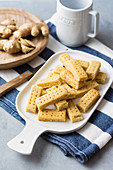 Ginger shortbread (low carb)