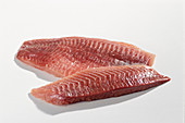 Two fish fillets