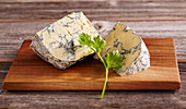 Jersey Blue (blue cheese from cow's milk, Switzerland)