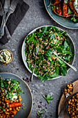 Spinach and Grain Salad