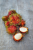 Rambutan fruits (Thailand)