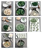 How to make strangolapreti alla trentina (spinach bread dumplings)