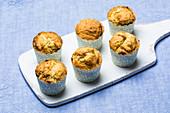 Basic vanilla muffins