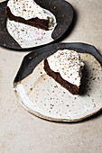 Mississippi mud pie from the Southern states