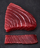 Raw tuna fish fillet for sushi