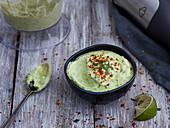 Avocado and lime mayo