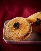 Croque Monsieur with truffles